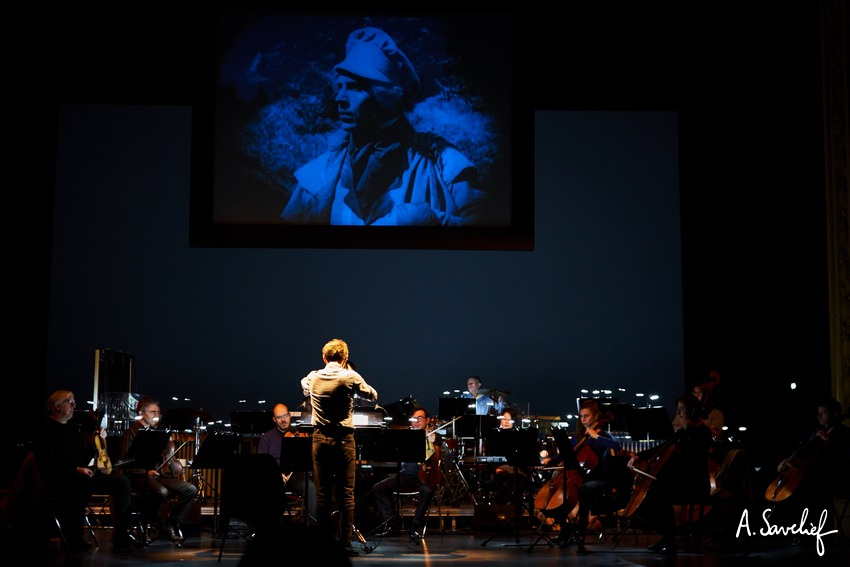 """Le ciné-concert """"Nosferatu, Une Symphonie de l'Horreur"""" à l'Opéra de Rennes avec l'OSB dirigé par Pierre Roullier"""