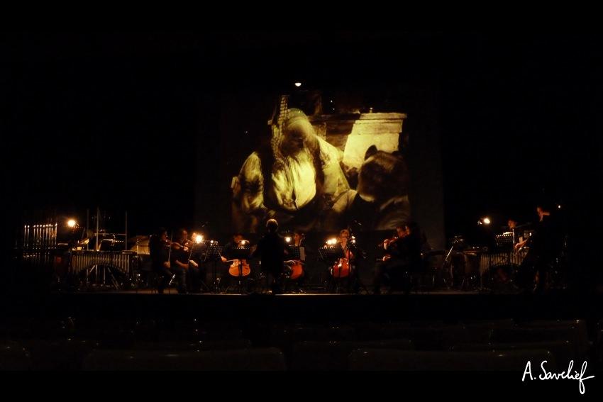 """Le ciné-concert """"Nosferatu, Une Symphonie de l'Horreur"""" à Bagneux, dirigé par Jean-Louis Forestier"""
